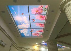 اجرای آسمان مجازی در مراکز خرید