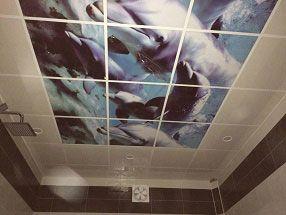 اجرای آسمان مجازی در حمام