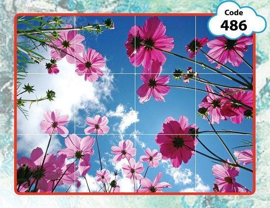 آسمان مجازی طرح گل در انواع سایزها