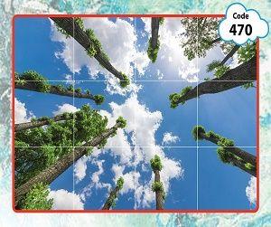 طرح آسمان مجازی درخت