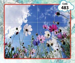 طرح آسمان مجازی گل