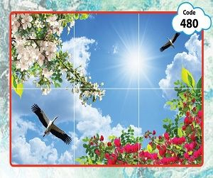 طرح آسمان مجازی شکوفه